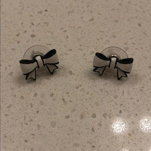 Betsey Johnson Bow Stud Earrings